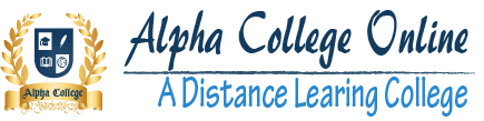 Alpha College Online- A Distance Learning College